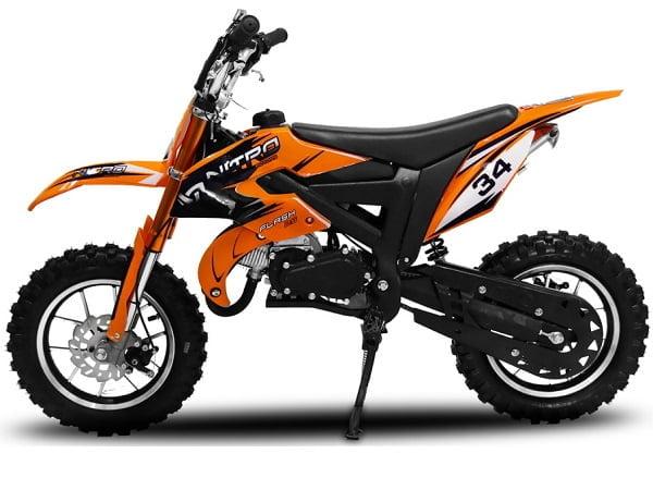 Motorbimbo Nitro Motors Minicross Croxx Blu