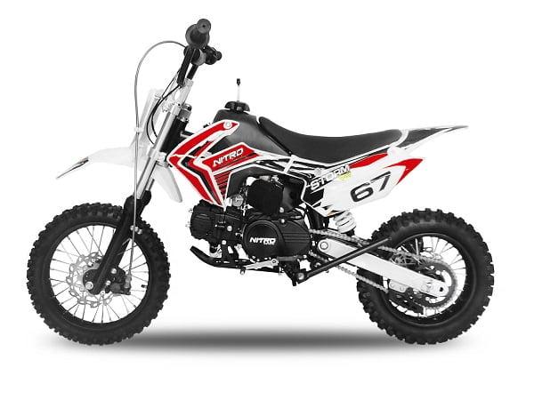 stormdirtbike110red