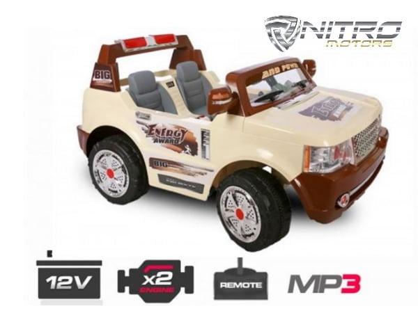 00 1191132 RGR OFFROAD  Range Rover Style  MINI AUTO ELETTRICA PER BAMBINI
