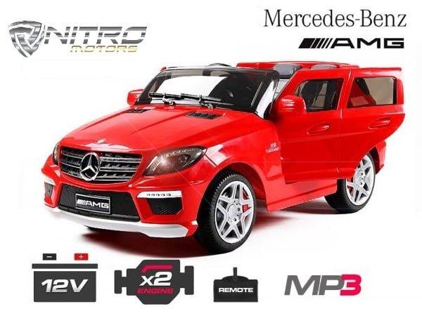 00 1191142 Mercedes ML63 MINI AUTO ELETTRICA PER BAMBINI