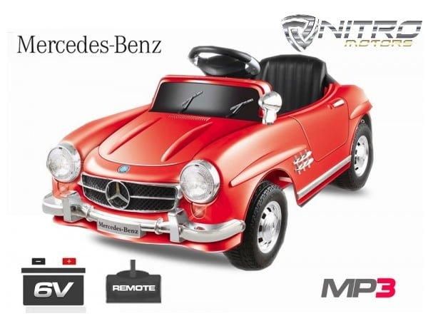 00 1191143 Mercedes 300SL 25W MINI AUTO ELETTRICA PER BAMBINI