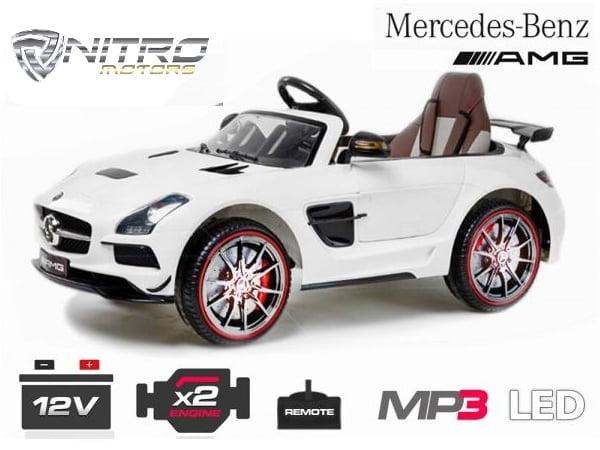 00 1191149 Mercedes Benz SLS AMG  MINI AUTO ELETTRICA PER BAMBINI