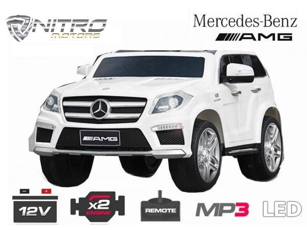 00 1191156 Mercedes Benz GL63  MINI AUTO ELETTRICA PER BAMBINI