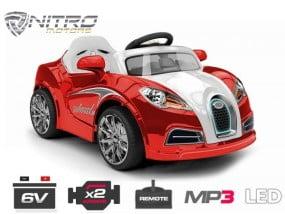 1191118 Mini auto elettrica Bugatti coupè