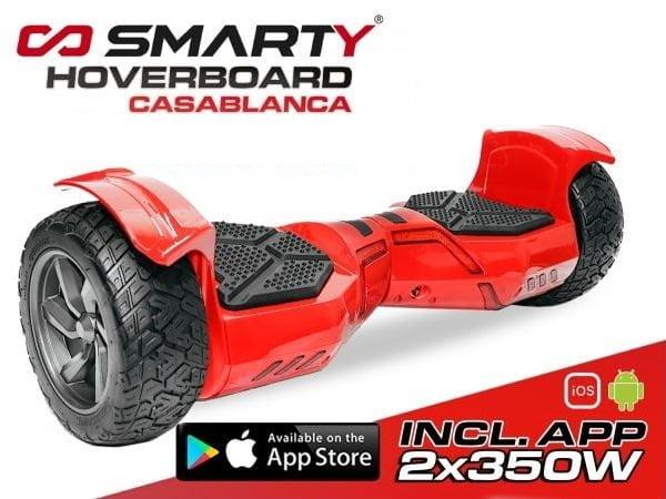 Hoverboard 8.5 Zoll Casablanca mit App Steuerung